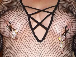 my new nipple clamps