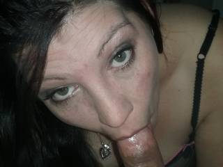 I love sucking my hubbies cock