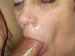 Wife sucking my cock this morning. Very hot MFM with regular fuck buddie.