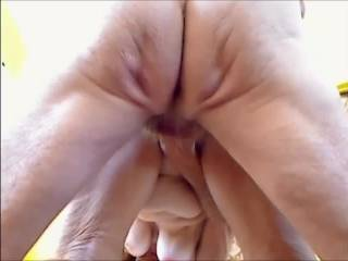 """Eve wanted a hard cock!  I just happen to have one available....Love the way she plays with my balls...started out \'doggy"""" then we changed position...would you enjoy her mature pussy too?  Will post more later  Snakey"""