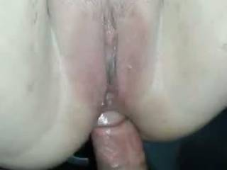 We met on a back country road and I fucked her up her tight asshole with my big cock....when I was ready to cum I pulled my cock from her ass and stuffed it in her pussy and filled her with a huge load. She went home and have her hubby clean up the mess.
