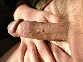 Just showing off my hard cock in front of the open window.  What would you do if you were my neighbor?