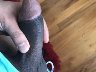 A side shot of my dick, rate me please