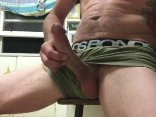 Fat cock needs attention