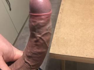 My fat hard cock