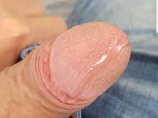 Hot precum coming out , who likes to have a taste?