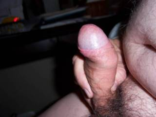 That sure is a nice looking uncut cock!