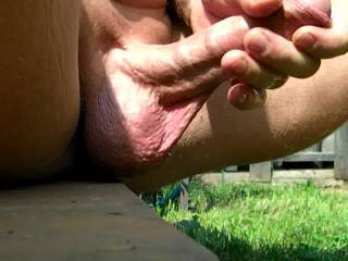 nice big balls & cock & cum, would like to suck it for you