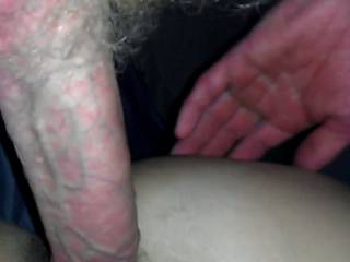 Great pic....big cock, sweet tight little pussy