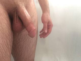 Love to take that big thick cock in my mouth, feel it growing, head pushing into my throat, throbbing, swelling harder, twitching as your hot hit deep into the back of my throat