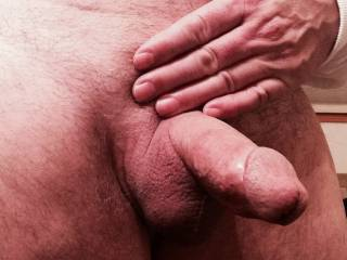Shaved, Smooth and hard...cum n get it