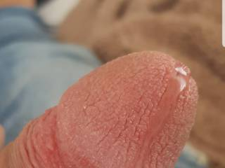 Wanna taste this hot precum?