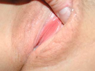 My GF let me post some pics as long as put mask on her! She wanted to show me her wet pussy was ready for my hard cock! Her juices were flowing! Tasty pink lips! Blue sex session. She will only approve the pics before I post.