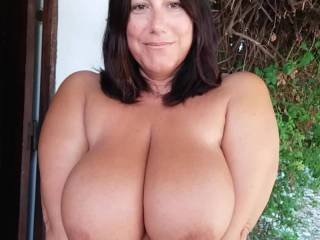 I like to be naked outdoors with all neighbours seeing me!