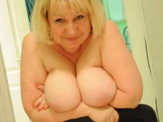 Russian mature big tits