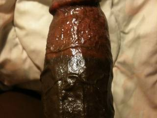 I would love to find out how much of your black rod I could take up my ass!