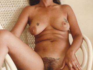 OMG you have one very hot sexy body!! and your sweet hairy pink pussy has my mouth watering a my cock is rock hard!!