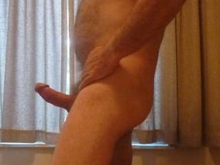 That is one truly beautiful cock and hot&hairy body you have there WOW!!!!