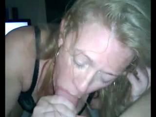 My girlfriend sucking my cock.