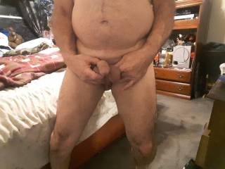 Soft dick waiting to get hard anyone want to help
