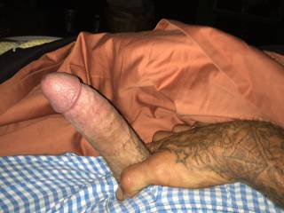 Got to thinking about my ole lady and made my dick hard