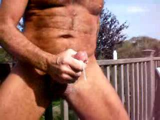 Wot a HOT Show....Loved watching U Wank your Gorgeous Cock off..I LOOOOVE to be Fucked outdoors and would REALLY LOVE a session outside on your HOT COCK!! XXX