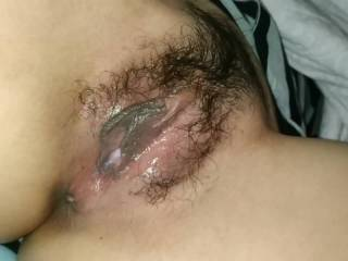 Nice night playing my wife horny wet pussy. Who want join me?