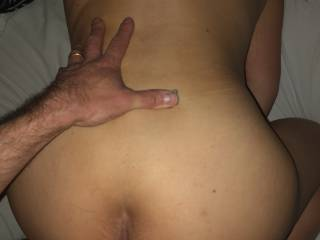 She loves taking his cock doggystyle