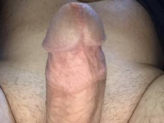 My cock is hard and ready to be sucked. Any takers?