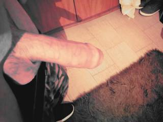 My wife love to suck this dick.. Who else?