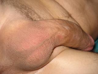 My freshly shaved balls :o)