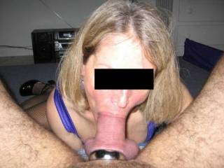 Nice blowjob with cock ring on .