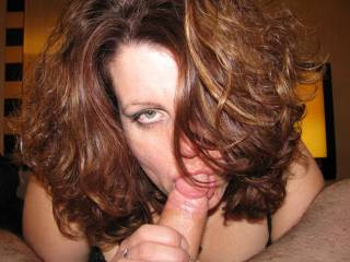 Sucking cock....I like it as much as I like sucking pussy