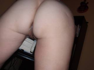 I would love to slide my hard cock inside her messy asshole and add another load deep inside.