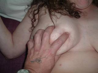 we both love grabbing and playing with big boobs...