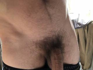 Having a quick wank while I'm at work