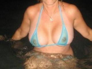 Cum swimming with me