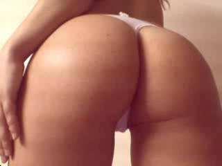 If your great ass was just for me.....I'd smack it and worship it!!! Your ass looks great in that pink thong Erica!!! Luv to see more of it!!!