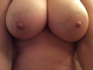 Wife loves her boobs to be fucked