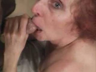 my personal slut loved sucking cock !