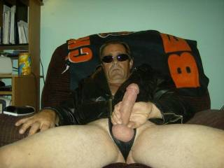 Mmmm Mr bad self, I could sit on that bad hrad cock of yours and ride it to orgasm.  K