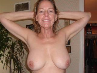 I'd love to shoot a huge load of cum on those perfect breasts ;) check my video and you'll know what I'm talking about