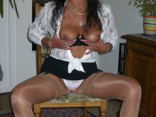 i just love white panties just look at our photo bet ur pussy look good in a pair of white see thru