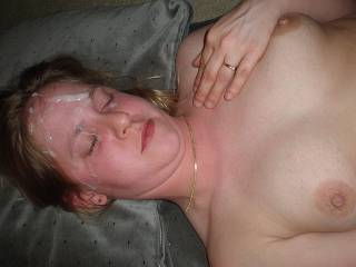 My Hot Sperm Facial