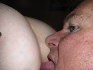 i love having my tongue deep in her ass..  She loves it too.   WIN WIN!