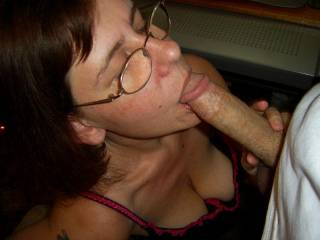 Doing what I do best - sucking cock