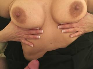 I love her huge tits