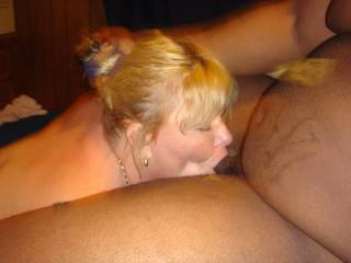Hot pic! Did he nut in your mouth ?