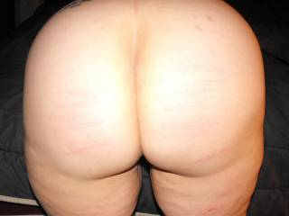 well she got a good spanking too! must have been a naughty girl!