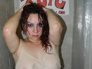 very sexy in the wet tee love seeing those nips